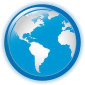 Illustrazione vettoriale di globo concetto — Vettoriale Stock