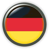 Orb GERMANY Flag vector button illustration 3D — Stock Vector