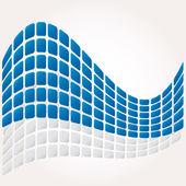 Abstrakt mosaik vektor sammansättning bakgrund — Stockvektor