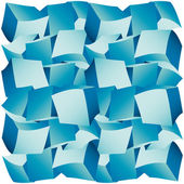 3d composition of cubes vector illustration — Vettoriale Stock
