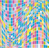 Vector illustration mosaic abstract background — Stockvektor