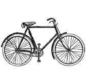 Old classic bike Illustration Vector — Stock Vector