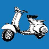 Scooter-Vektor-illustration — Stockvektor