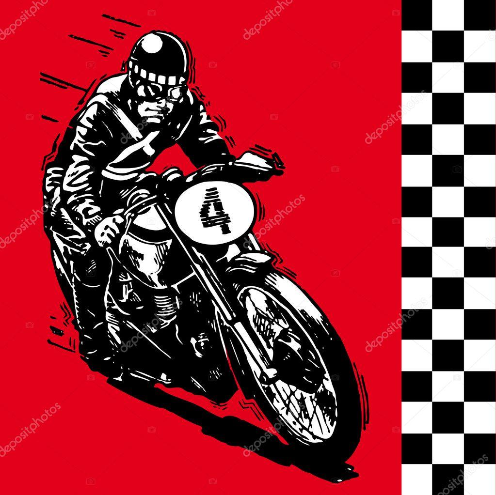 Carrera de motocross vintage Missouri