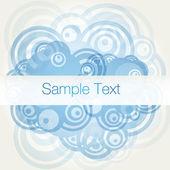 Banner background vector illustration — Stock Vector