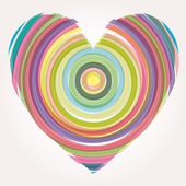 Heart Vector Illustration — Vettoriale Stock
