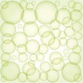 Burbujas de vectores de fondo — Vector de stock