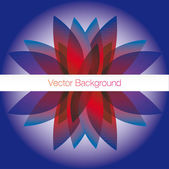 Abstract Background Banner — Vettoriale Stock