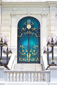 Nice door of The Grand Palace of Thailand — Stock Photo