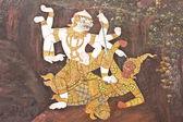 The mural of Ramayana — Stock Photo