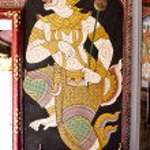 Постер, плакат: Mural of Ramayana
