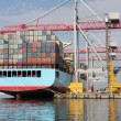 Stock Photo: Container Shipping