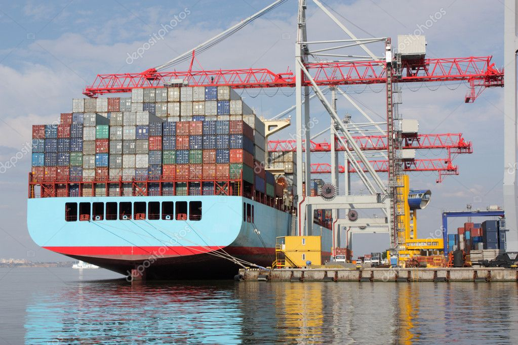 Unloaded container  Stock Photo #3808237