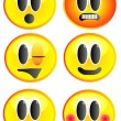 Stock Photo: Smileys