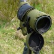Spotting scope — Stock Photo