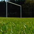 Soccer field - Stock Photo