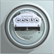 Royalty-Free Stock Photo: Electric Power Meter
