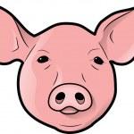 Pig's Head — Stock Photo