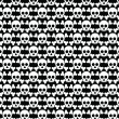 Skull and Crossbone Pattern — Stock Photo