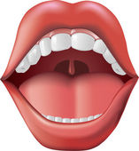 Mouth Open — Stock Photo