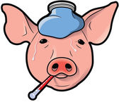 Swine Flu — Stock Photo