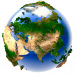 Miniature real Earth — Stock Photo #3252926