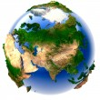 Stock Photo: Miniature real Earth