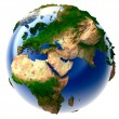 Miniature real Earth — Stock Photo #3252965