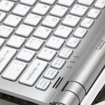 Laptop. Detail — Stock Photo