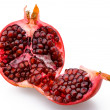 Juicy sliced pomegranate — Stock Photo
