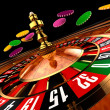 Royalty-Free Stock Photo: Casino Roulette