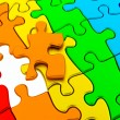 Royalty-Free Stock Photo: Puzzle colorful