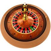 Casino Roulette on white — Stock Photo