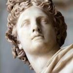 Apollo Belvedere statue. Detail — Stock Photo