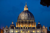 View on cupola of St.Peter's Cathedral — Stock Photo