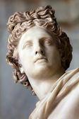 Estátua de apolo belvedere. detalhe — Foto Stock