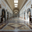 Italy Older Interior VaticMuseum in Rome — Stock Photo #3320538