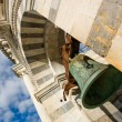 Bell of leaning tower in Pisa — Stock Photo