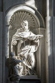 Sculpture inside St. Peter's Basilica in Rome, Italy — Stock Photo