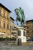 Statue of Cosimo I de' Medici by Giambologna — Stock Photo