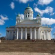 The Lutheran Cathedral in Helsinki, Finland - Stock Photo
