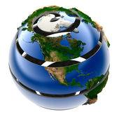 Helix Planet Earth — Stock Photo
