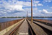 The old bridge — Stock Photo