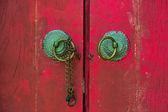 Puerta del templo chino — Foto de Stock
