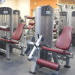 Fitness gym hall - Stock Photo