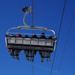 Ski lift — Stock Photo #3443590