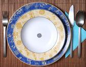 çin tarzı yemekler beyaz — Stok fotoğraf