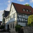 Half-timbered house — Stock Photo