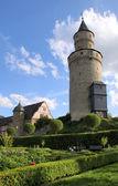 Hradní věž ve městě idstein — Stock fotografie