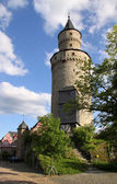Castle tower in Idstein — Stock Photo